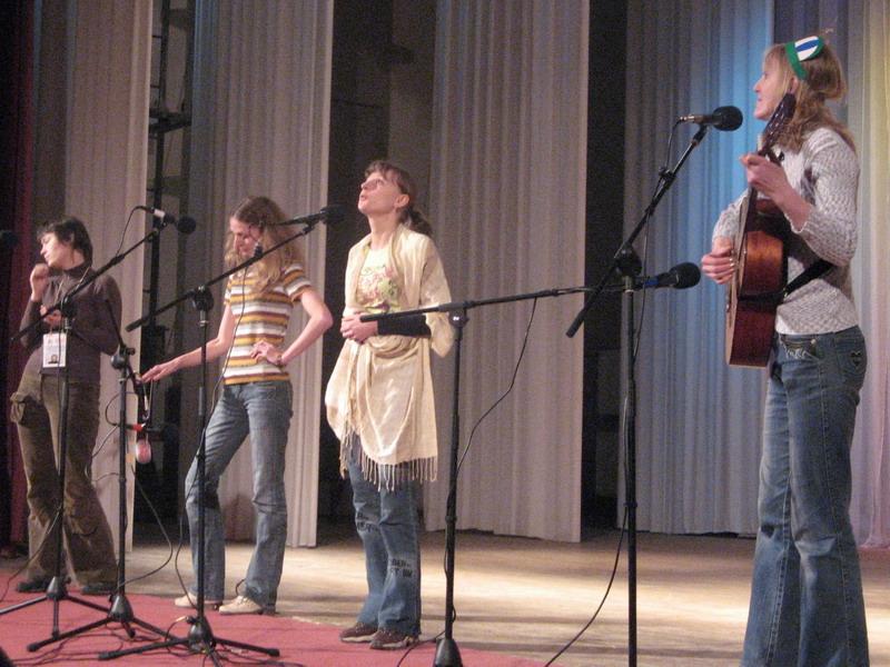 Выступление на гала-концерте